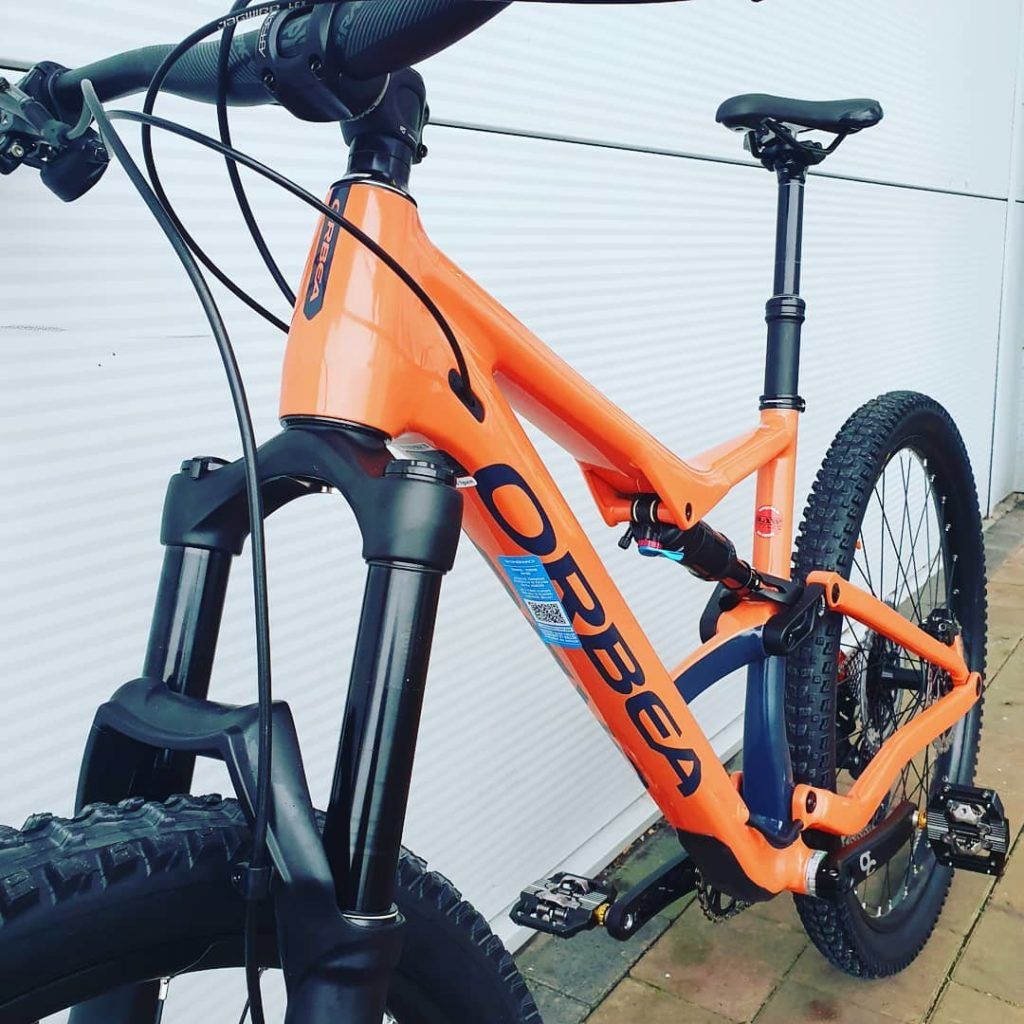 Orbea Occam at RAW Limerick