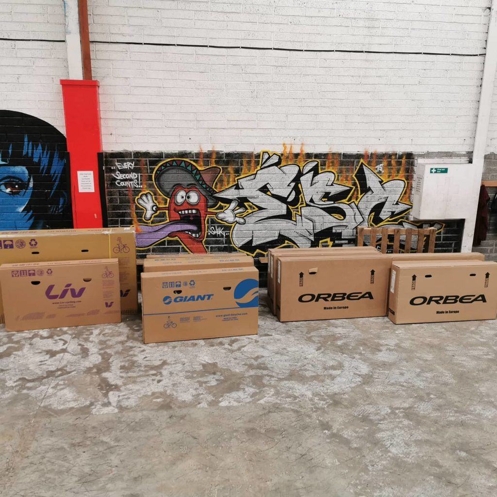 RAW Cycles New Stock